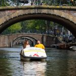 Pedal Boat – excursions in Amsterdam